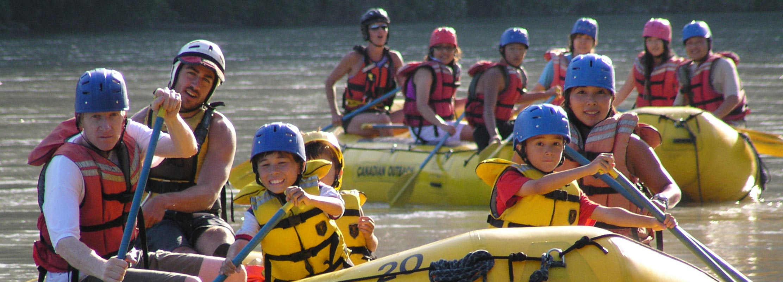 Family Float Rafting Squamish