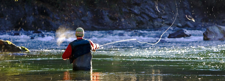 Winter Fishing in Squamish
