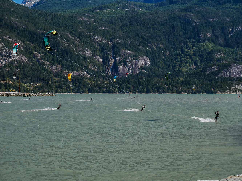 Kireboarding Squamish