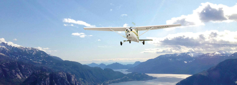 Flight Seeing Tour over Squamish, BC