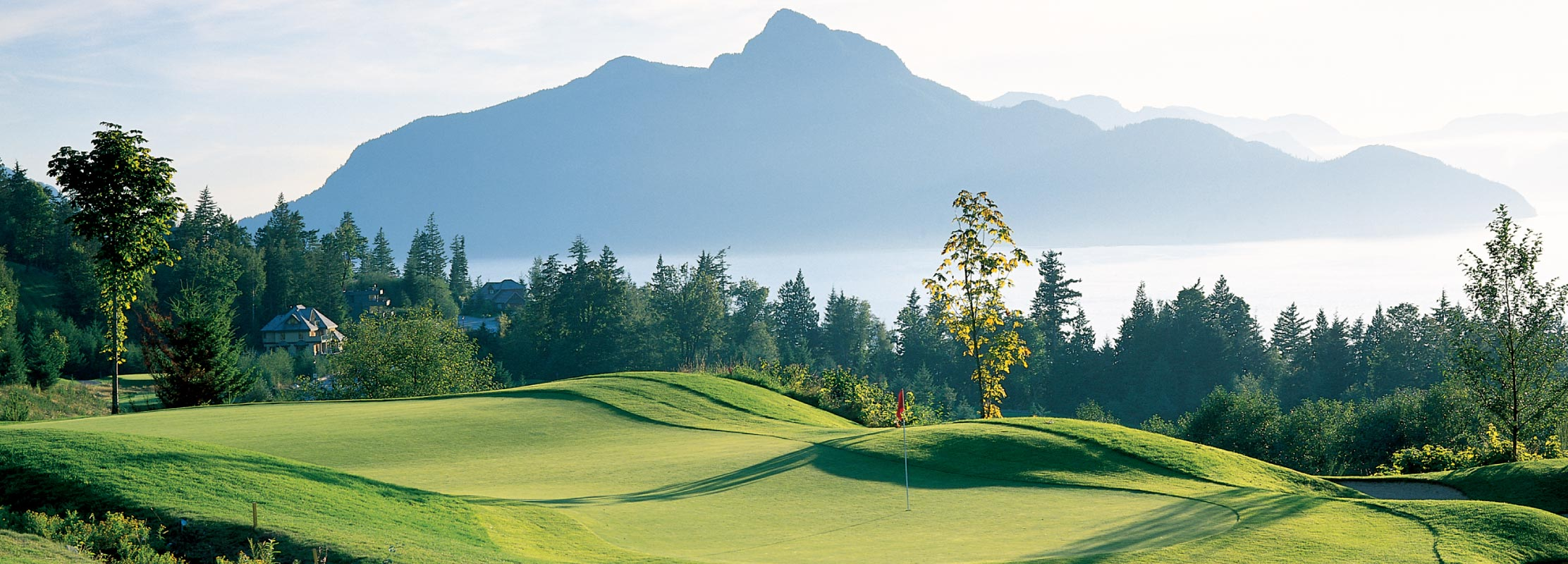 Furry Creek Golf Course in Squamish, BC