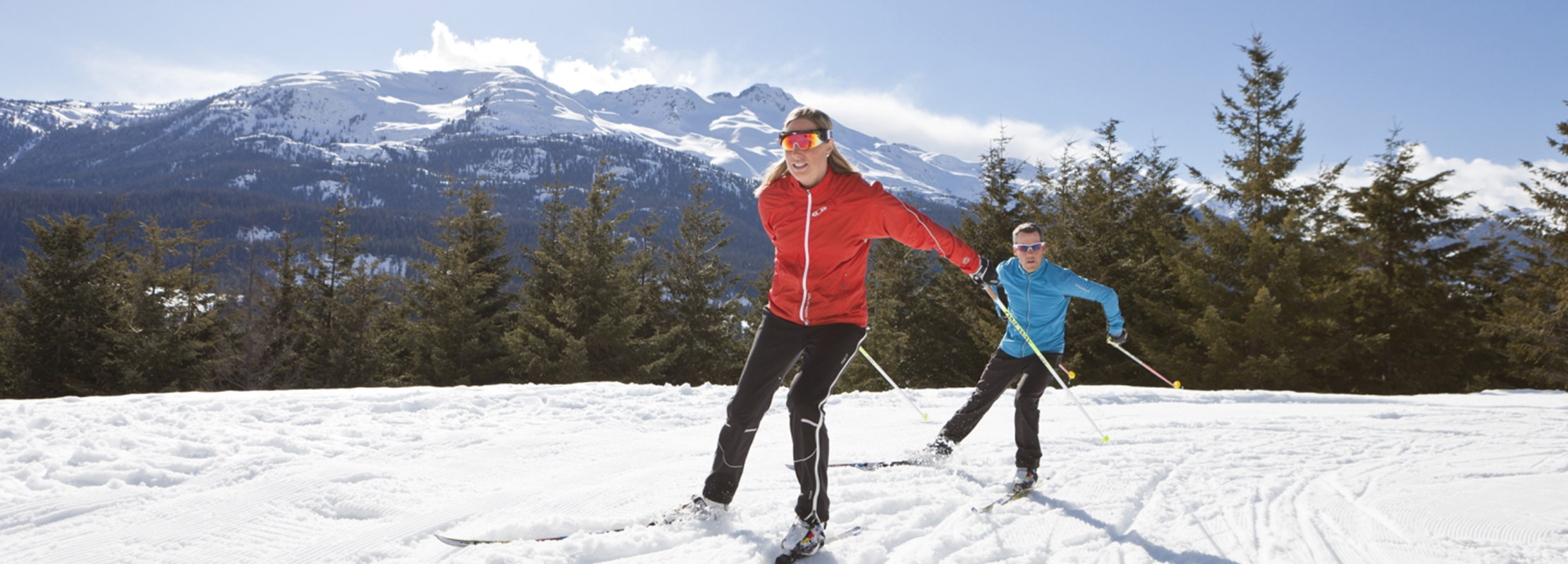 Nordic Skiing Callaghan Valley Whistler BC