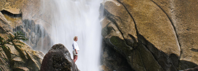 Shannon Falls in Squamish, BC