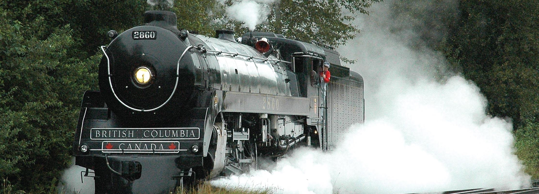 Royal Hudson Full Steam Ahead in Squamish
