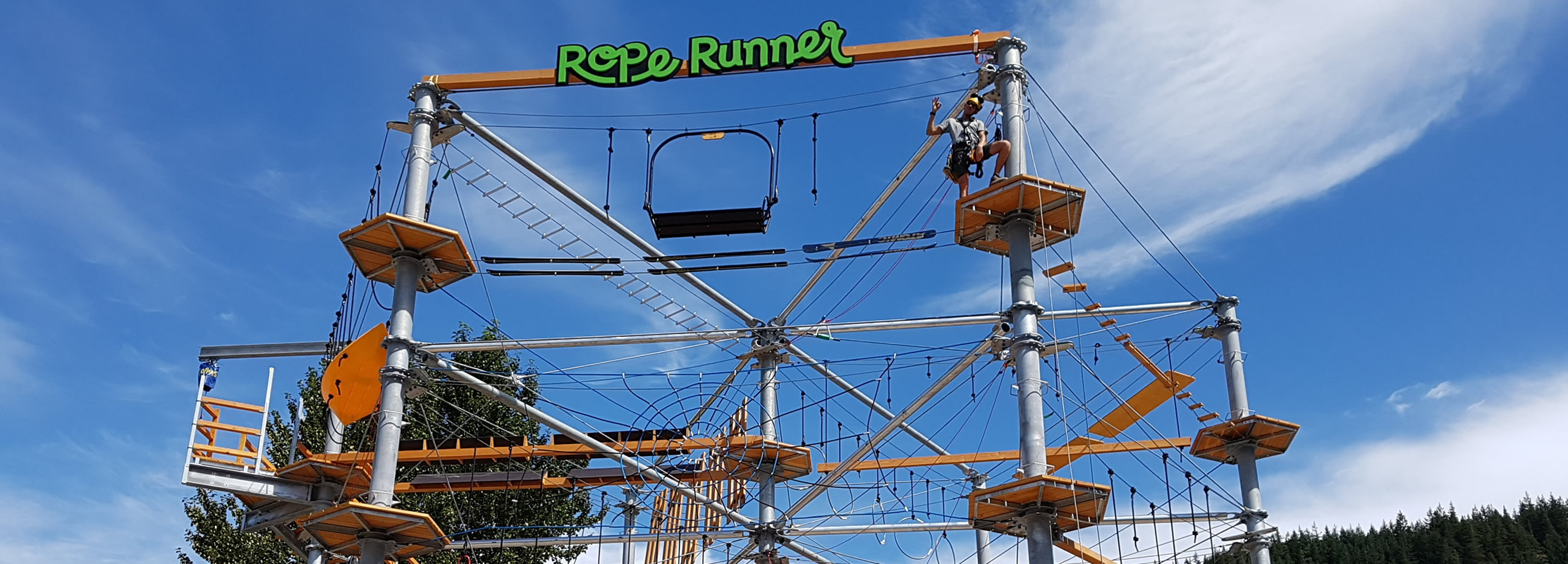 Rope Runner Aerial Adventure Park Squamish