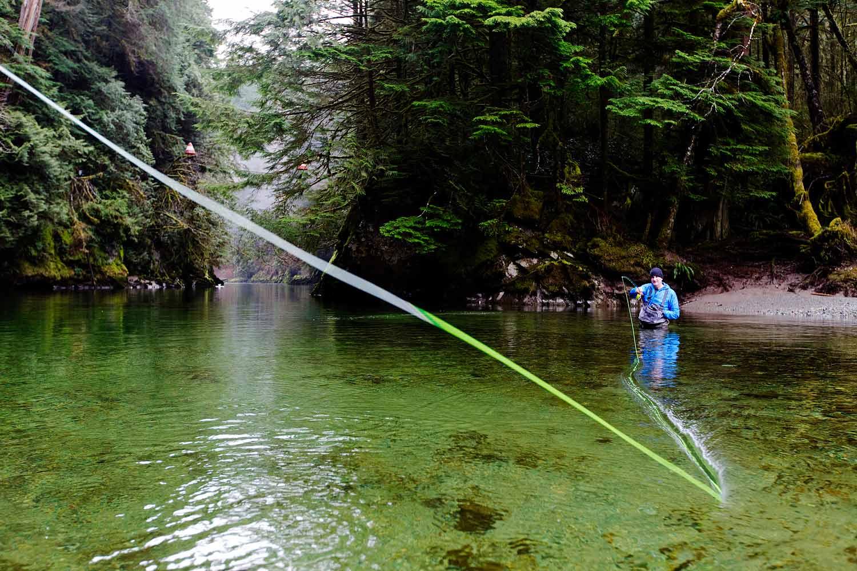 Fall Fishing in Squamish