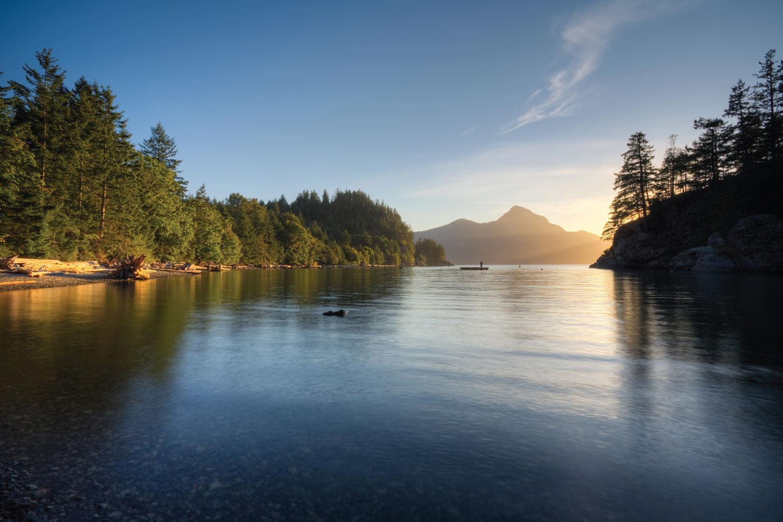 Porteau Cove Provincial Park in Squamish, BC