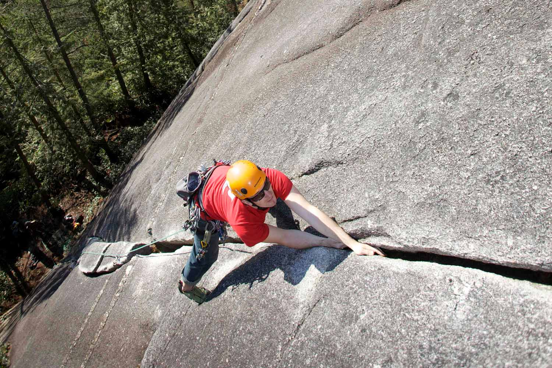 Rock Climbing Smoke Bluffs Squamish BC