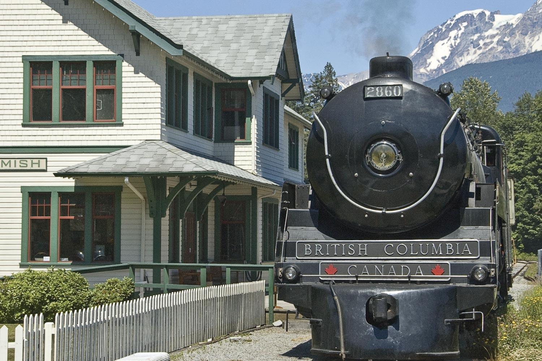 Royal Hudson at West Coast Railway Heritage Park