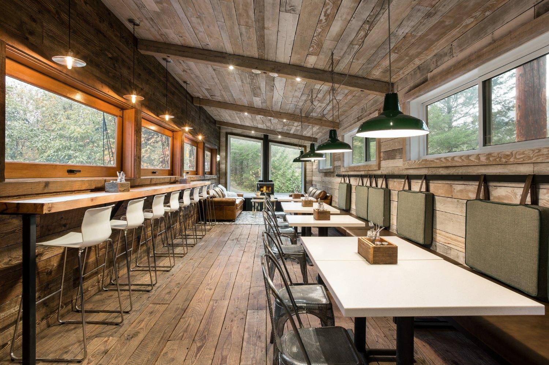 Fergie's Cafe at Sunwolf Resort, Squamish BC