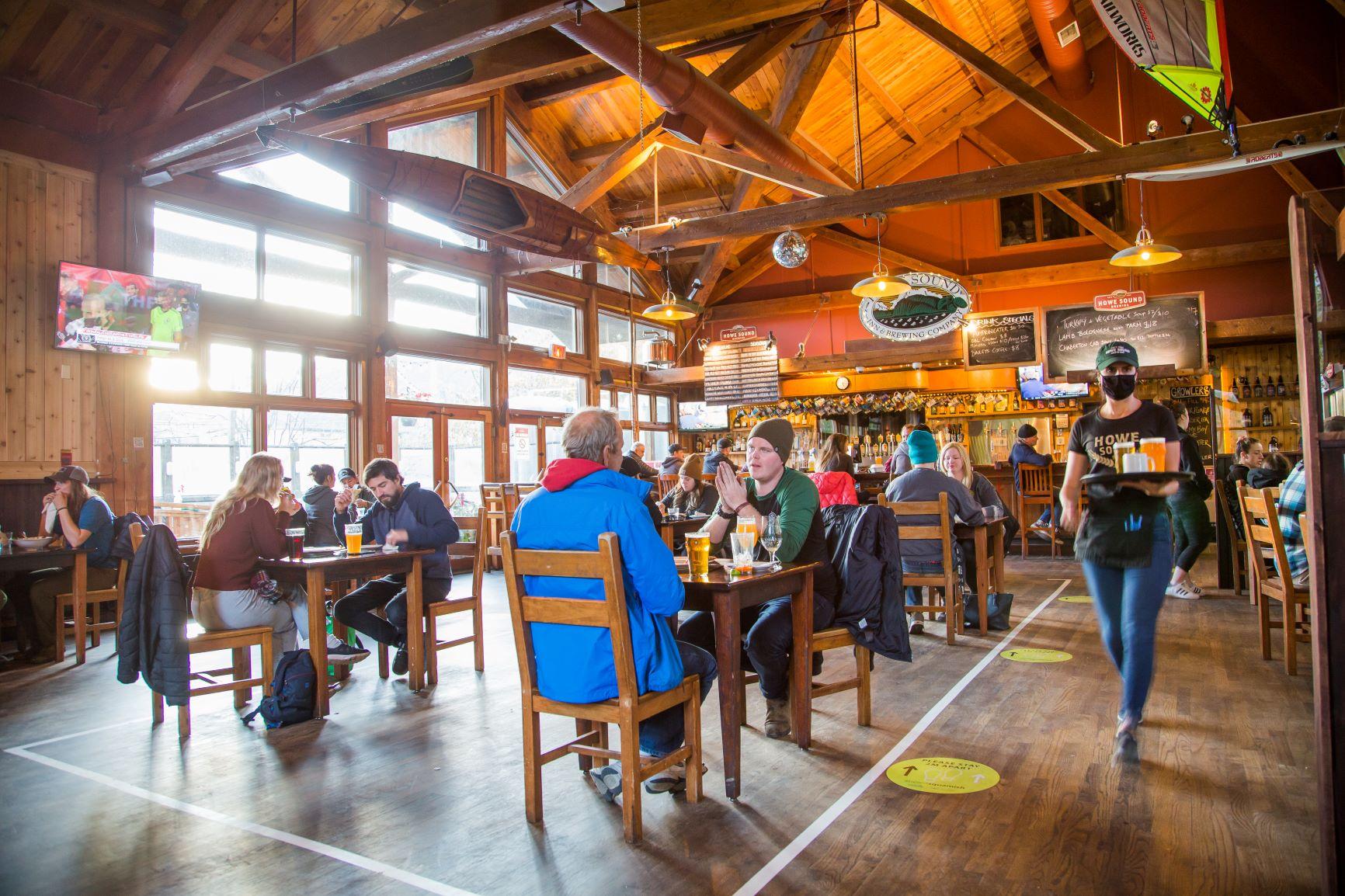 Howe Sound Brew Pub, Squamish BC