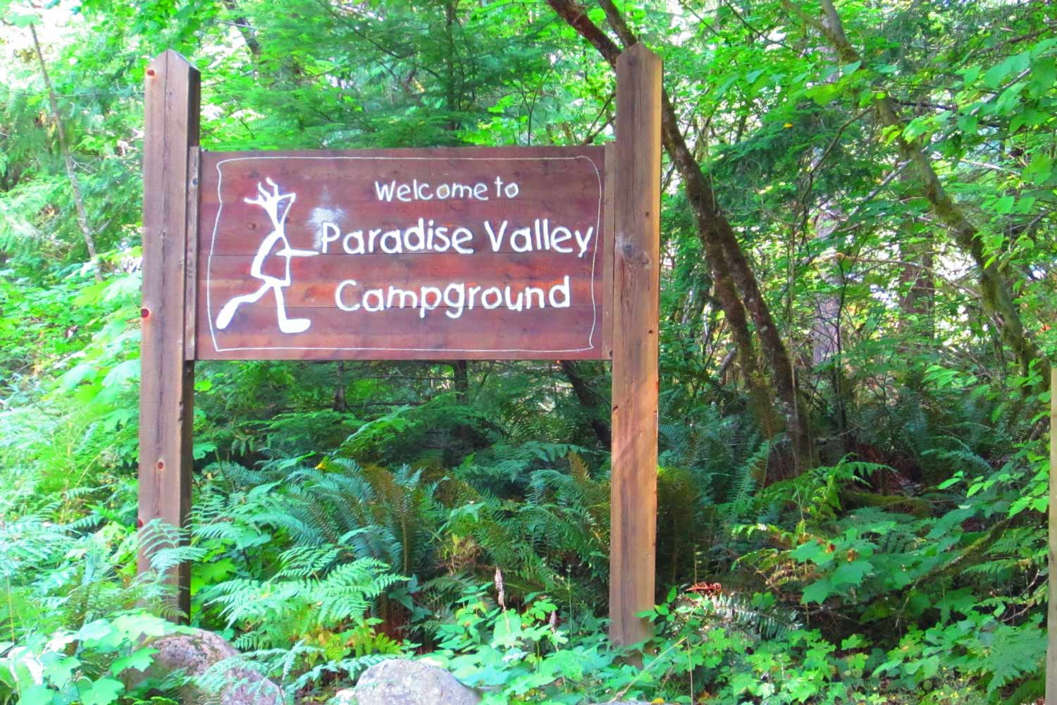 Paradise Valley Campground Squamish BC