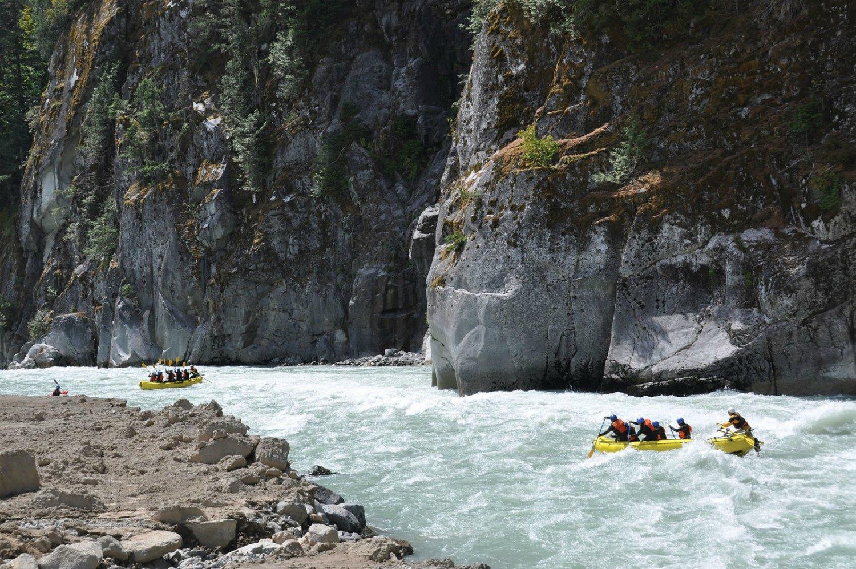 Squamish Rafting Company, Squamish BC