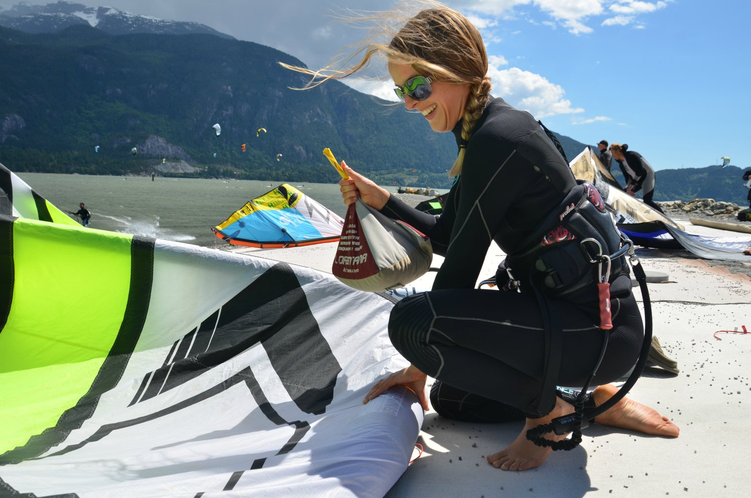 Squamish Windsport Society, Squamish Spit