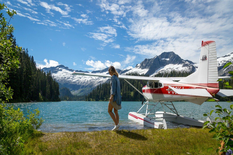Phantom Lake Paradise Sea to Sky Air, Squamish BC