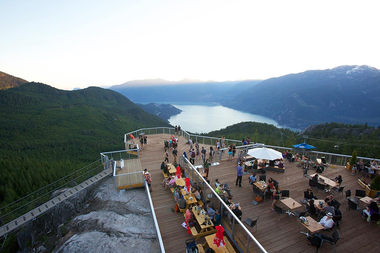 Summit Lodge Sea to Sky Gondola Squamish BC