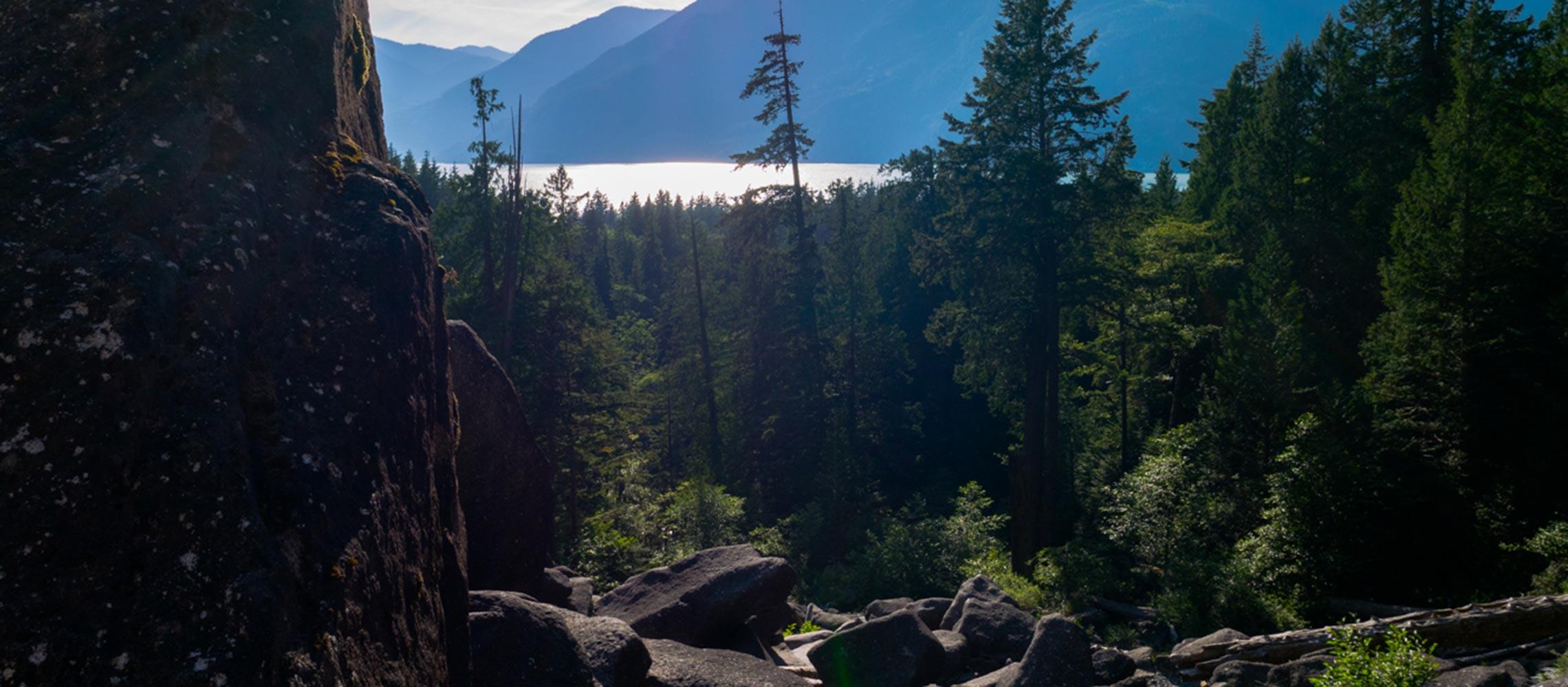 Shannon Falls Squamish BC