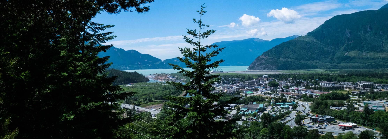 Smoke Bluffs Park Squamish BC