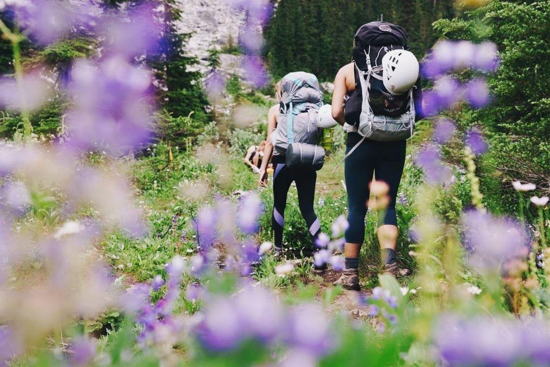 Hiking in Squamish