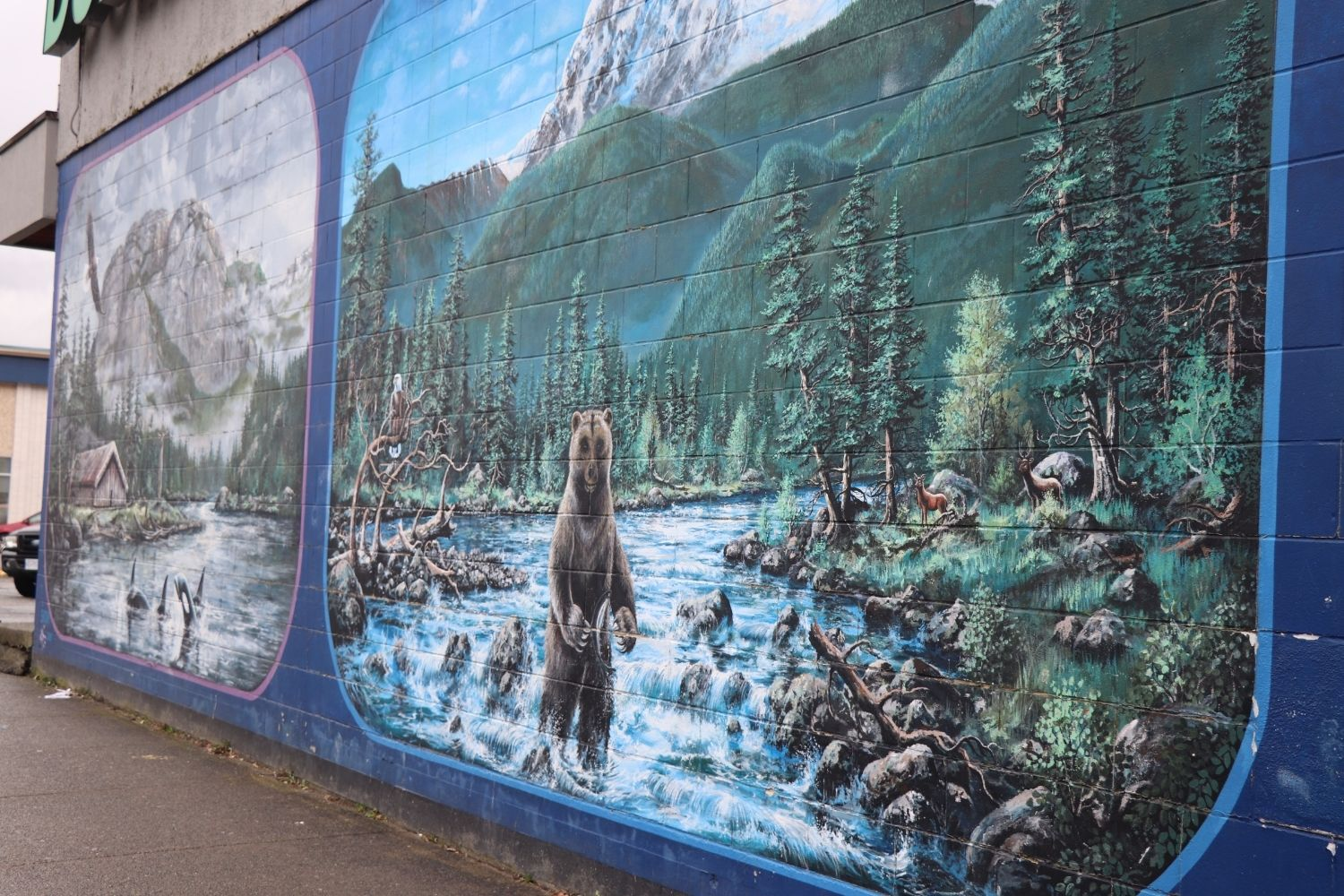 Downtown Squamish Mural