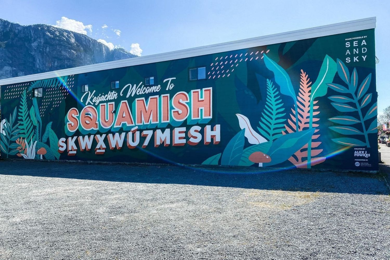 Welcome To Squamish