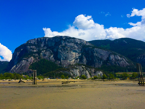 The Stawamus Chief From the Ocean