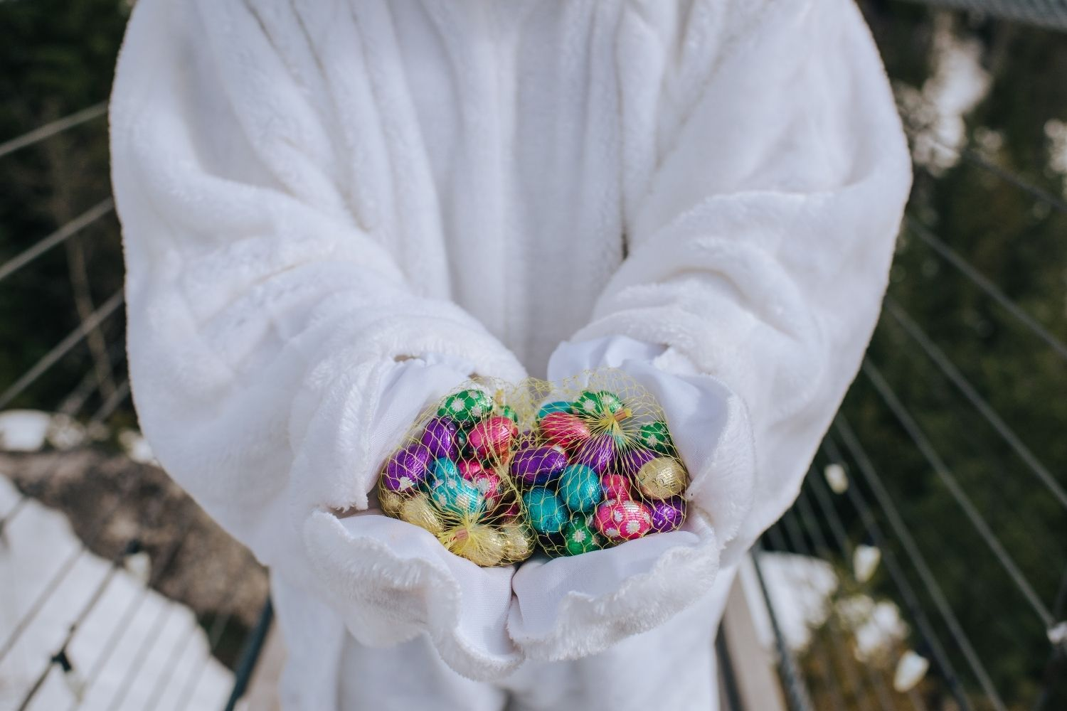 Easter Bunny at the Gondola
