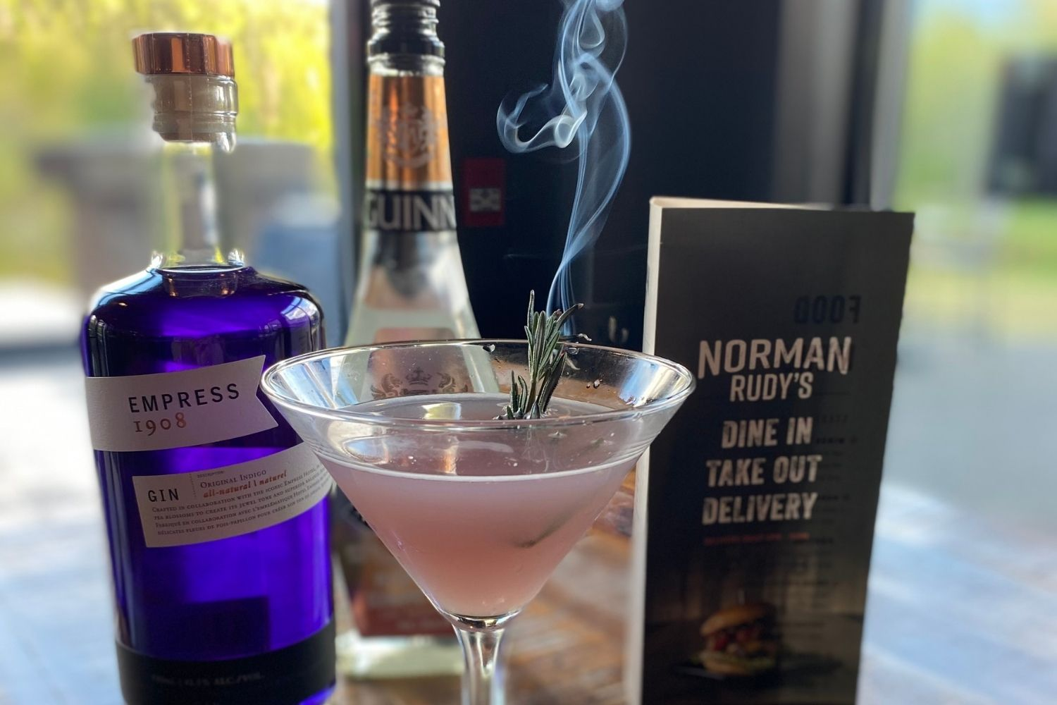Norman Rudy's cocktail