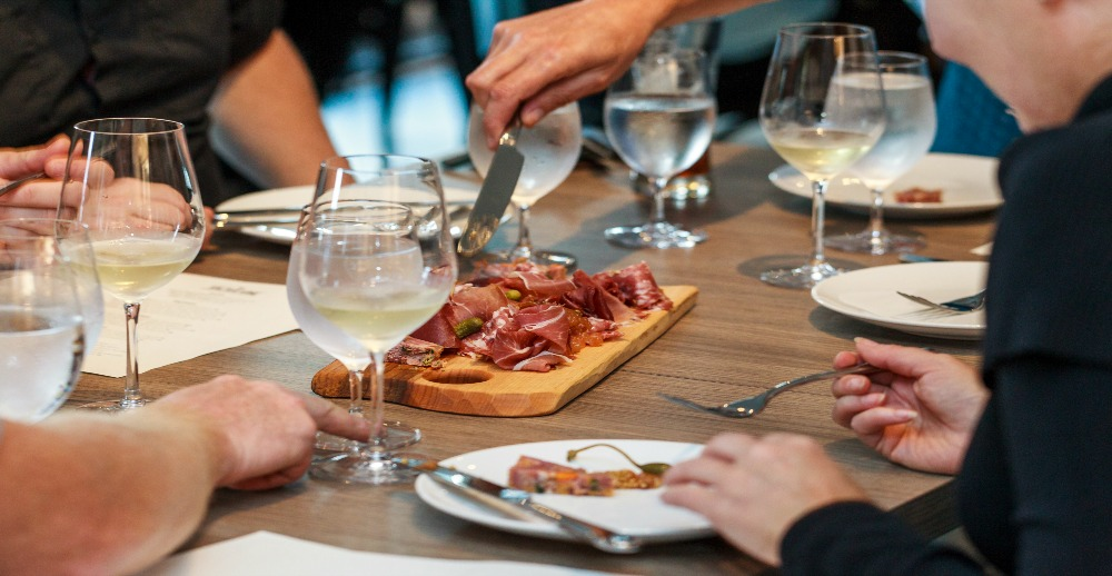 NYE Dinner Salted Vine Kitchen + Bar Squamish BC