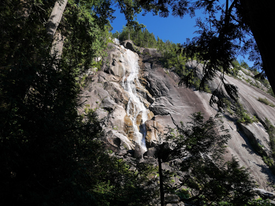 Shannon Falls from Trail