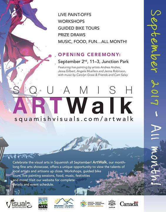 Squamish ArtWalk, Squamish BC