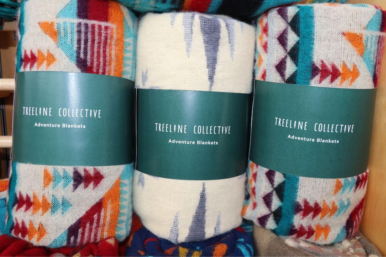 Treeline Collective blankets
