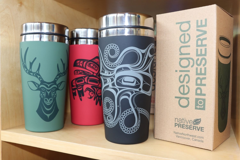 Travel Mugs at Squamish Store