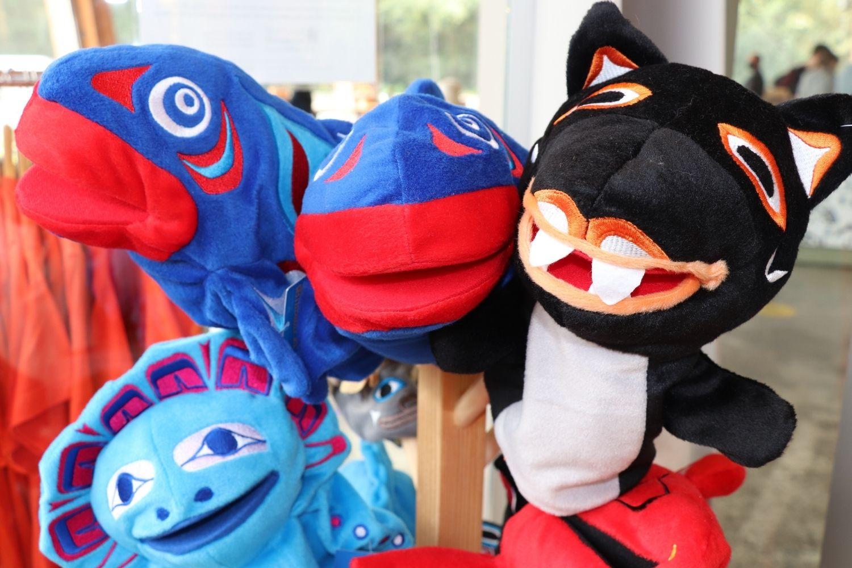 Squamish Store puppets