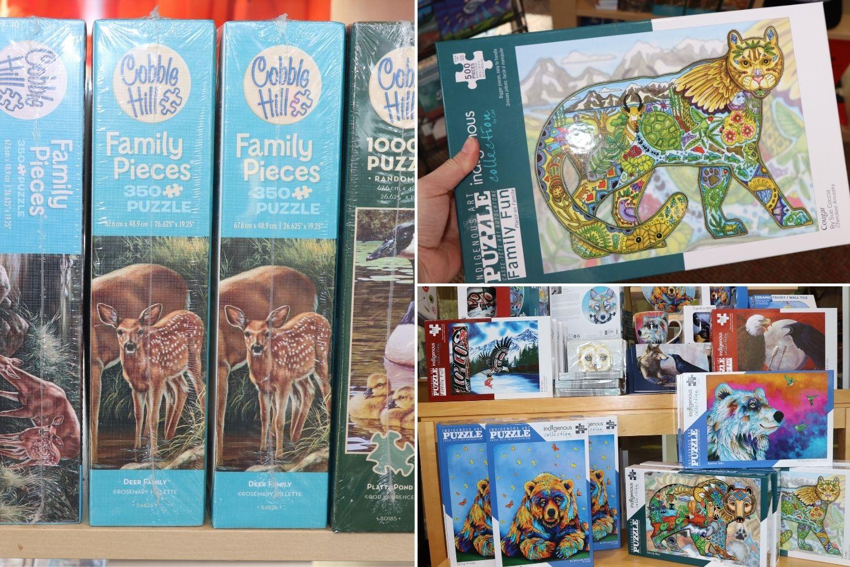 Squamish Store Puzzles