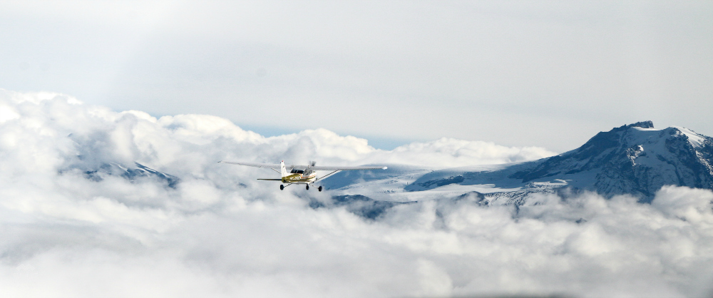 Winter Flightseeing Squamish BC