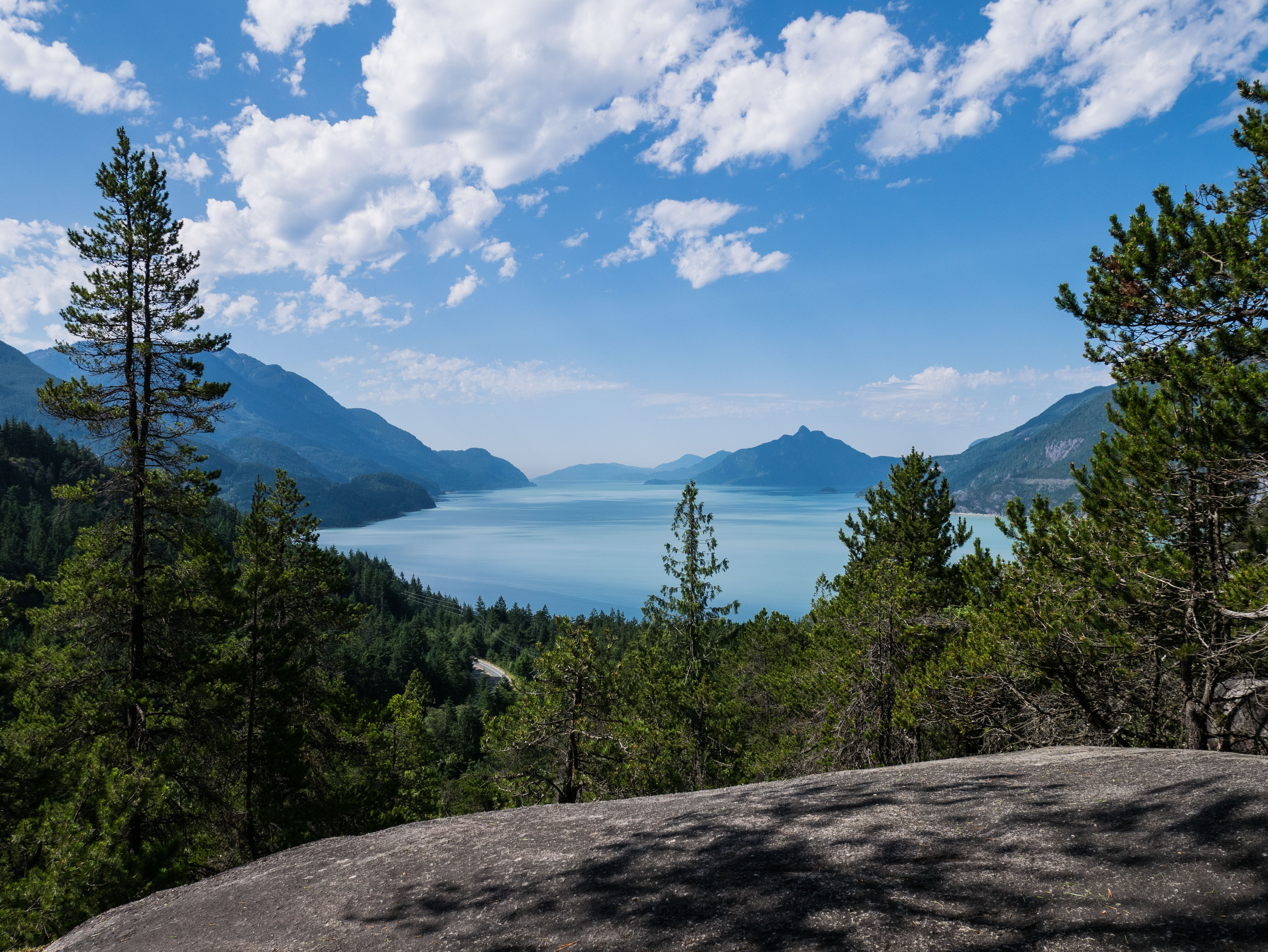 View of Howe Sound From Murrin Park