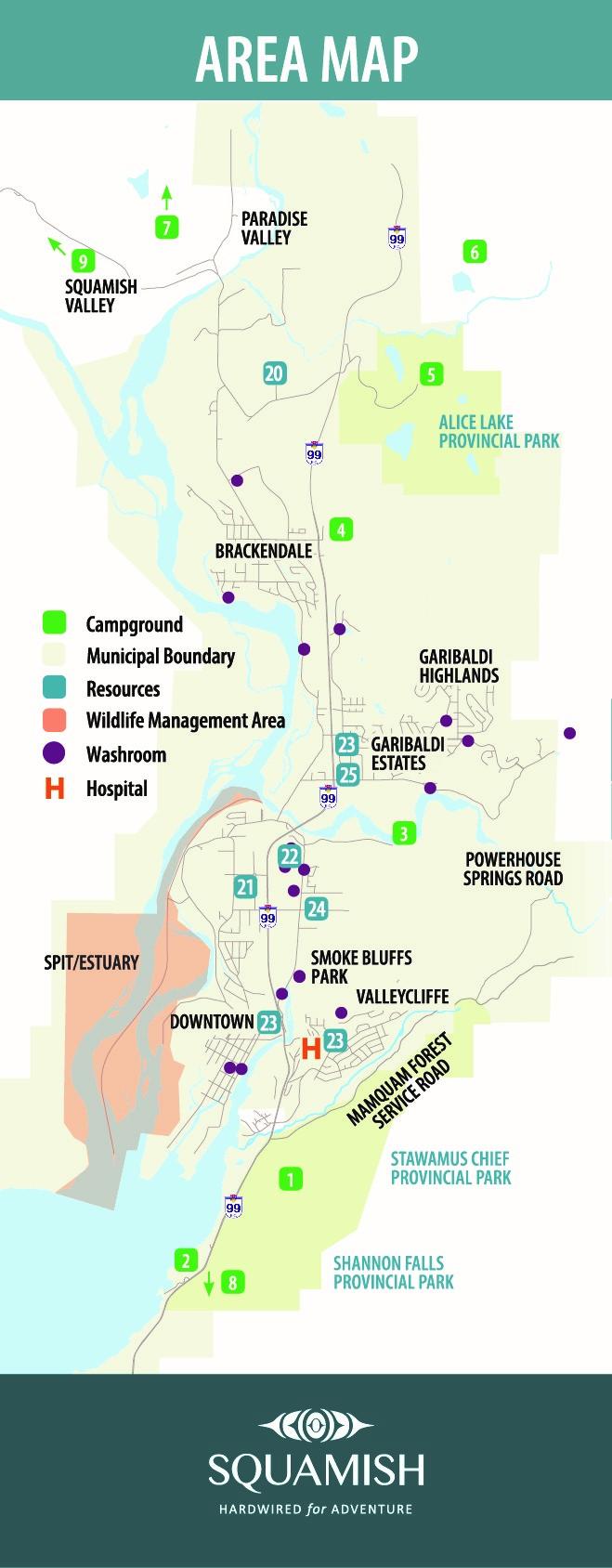 Designated Camping Areas