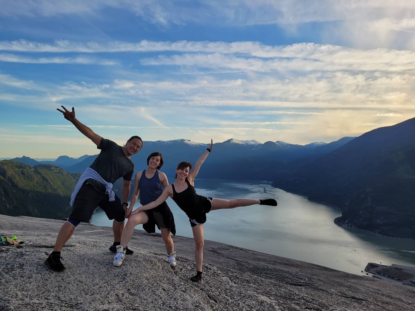 Sunset from the Stawamus Chief
